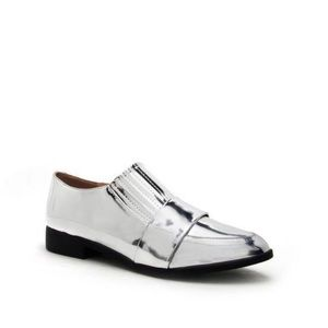 Shoes - Silver Tuxedo Loafers